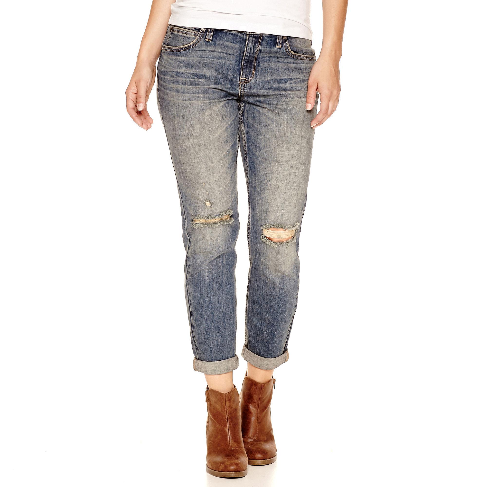 a.n.a Skinny Boyfriend Jeans - Tall plus size,  plus size fashion plus size appare