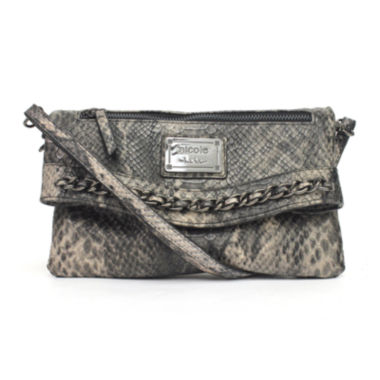 jcpenney.com | nicole by Nicole Miller® Andie Foldover Convertible Crossbody Clutch