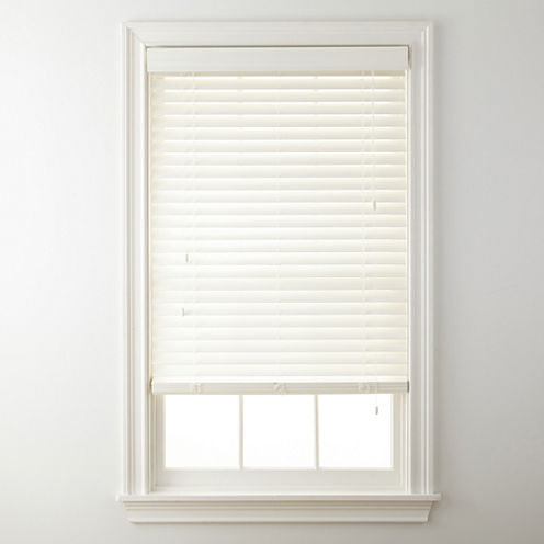 """JCPenney Home™ 2"""" Wood Privacy Blinds"""