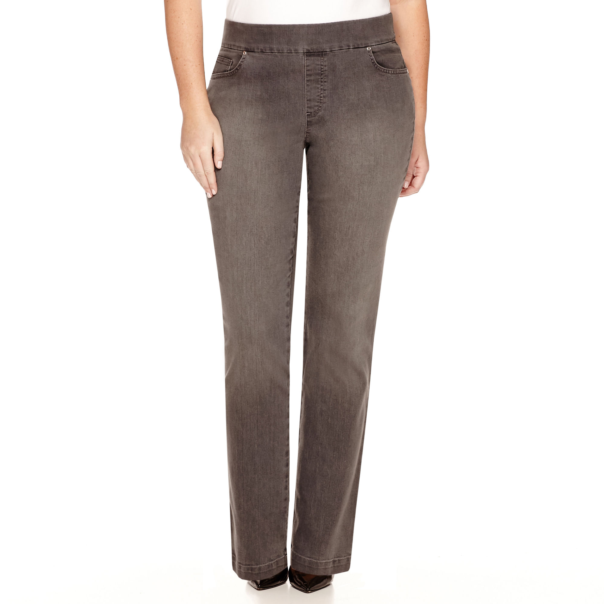 Gloria Vanderbilt Avery Straight-Leg Jeans - Plus