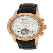 Seiko® Recraft Mens Black Rubber Strap Solar Chronograph Watch SSC385