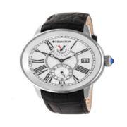Seiko® Mens Black Stainless Steel Solar Chronograph Sport Watch SSC395