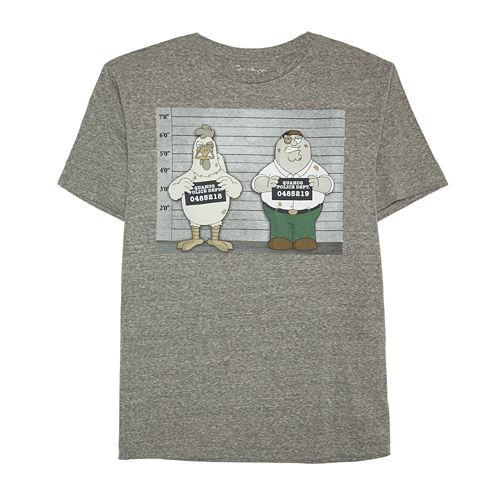 Family Guy Mugshot Graphic T-Shirt