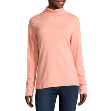 jcpenney.com | St. John's Bay® Talls Long Sleeve Turtleneck