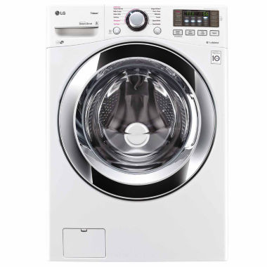jcpenney.com | LG ENERGY STAR® 4.5 cu. ft. Ultra-Large Capacity Front-Load Washer with Steam