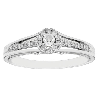 Enchanted Disney Fine Jewelry Womens 1 5 Ct Tw Round