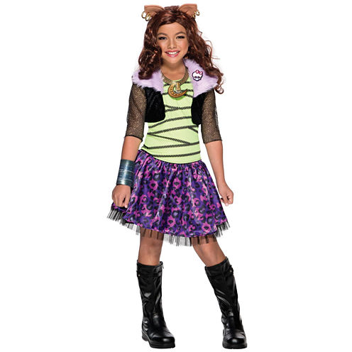 Monster High 4-pc. Dress Up Costume Girls