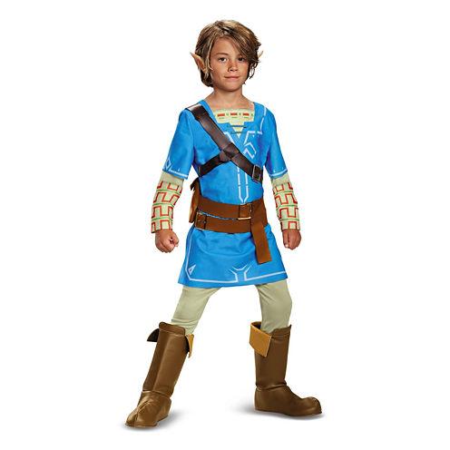 The Legend Of Zelda 7-pc. Dress Up Costume Boys