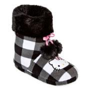 Hello Kitty® Pom Pom Short Boot Slippers