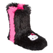 Hello Kitty® Shaggy Short Boots
