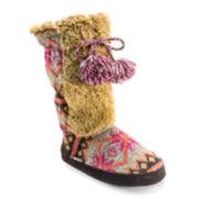 MUK LUKS® Jewel Tall Boot Slippers