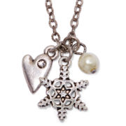 Messages from the Heart® by Sandra Magsamen® Snowflake Necklace