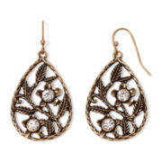 Messages from the Heart® by Sandra Magsamen® Floral Filigree Earrings