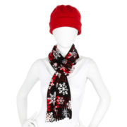 Mixit™ Fleece Hat and Scarf Set