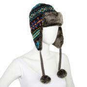 Mixit™ Jacquard Trapper Hat