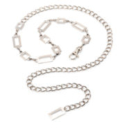 Mixit™ Silver-Tone Chain Belt