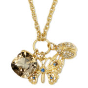 Monet® Gold-Tone Butterfly Pendant Necklace