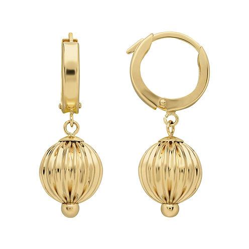 Infinite Gold™ 14K Yellow Gold Ball Drop Earrings