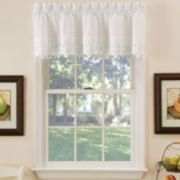 Hanna Rod-Pocket Tailored Valance