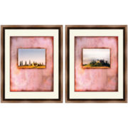 PTM Images™ Set of 2 Pink Tuscany Wall Art