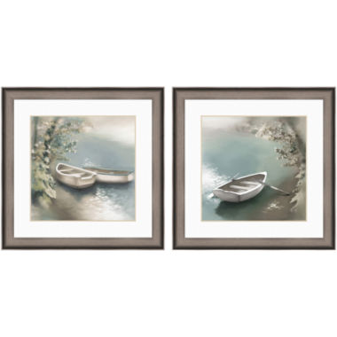 jcpenney.com | PTM Images™ Set of 2 Boats on the Lake Wall Art