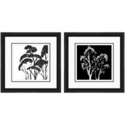 PTM Images™ Set of 2 Black & White Trees Wall Art