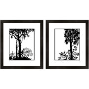 PTM Images™ Set of 2 Tree Silhouette Wall Art