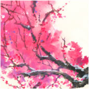PTM Images™ Pink & Brown Branches II Wall Art