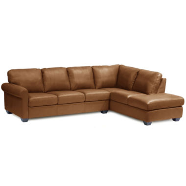 jcpenney.com | Leather Possibilities Roll-Arm 2-pc. Right-Arm Corner Sectional