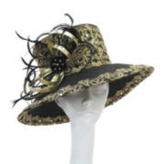 Whittall & Shon™ Ribbon Loop Brocade Hat