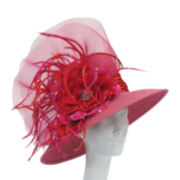 Whittall & Shon™ Flower and Feather Dressy Hat