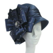 Whittall & Shon™ Bow and Bead Cloche Hat