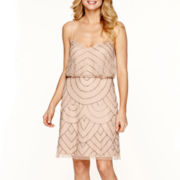 Simply Liliana Beaded Blouson Dress