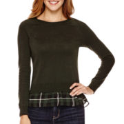 a.n.a® Layered Sweater - Petite
