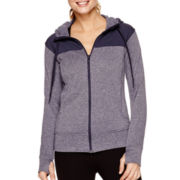 adidas® Go To Fleece Full-Zip Hoodie