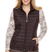 Made For Life™ Woven Quilted Vest or Notch-Neck Thermal T-Shirt - Plus