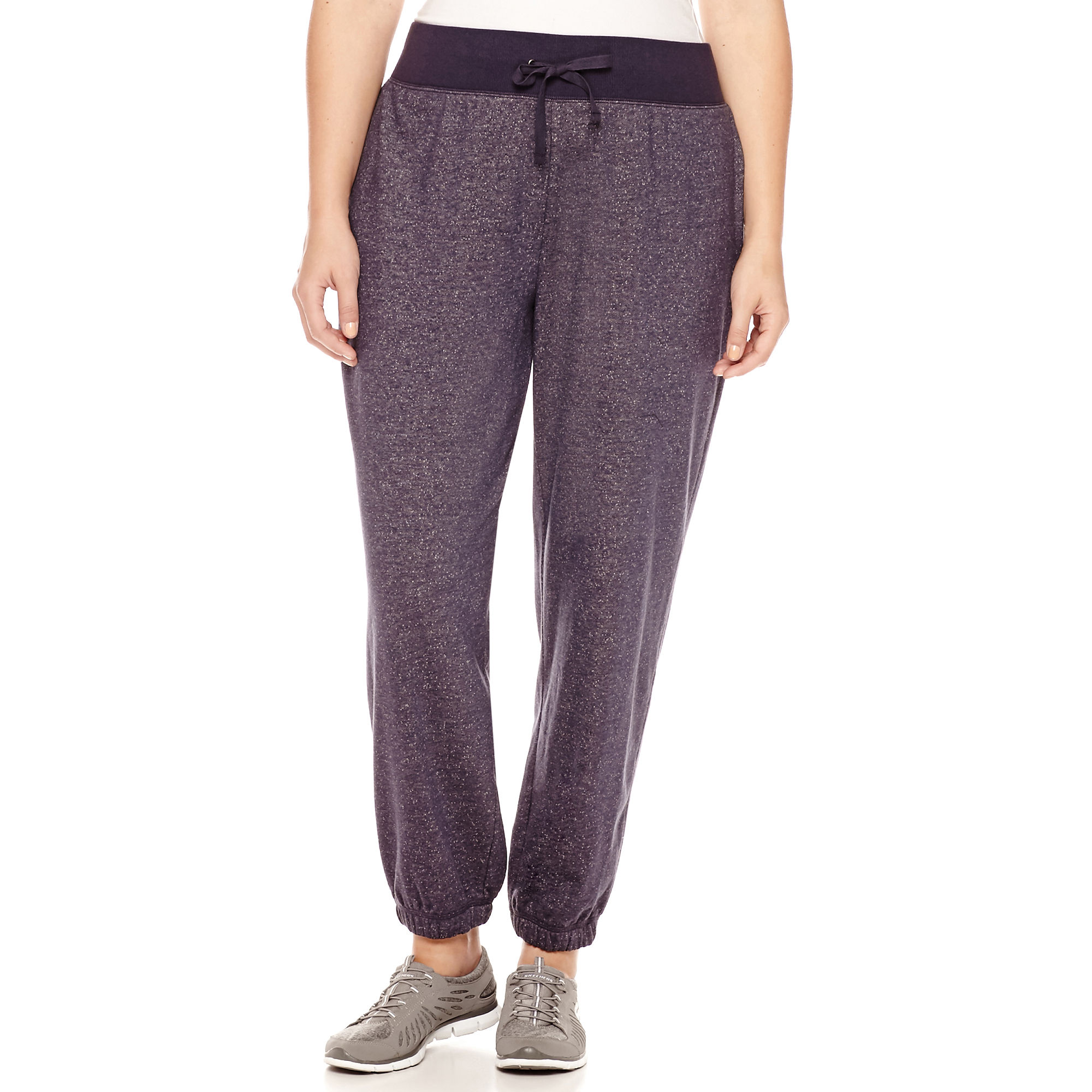 Made For Life™ Novelty French Terry Pants - Plus