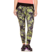Xersion™ Print-Block Leggings - Plus