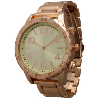 jcpenney.com | Olivia Pratt Womens Rose Goldtone Bracelet Watch-14200rose