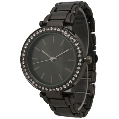 jcpenney.com | Olivia Pratt Womens Gray Bracelet Watch-14202gunmetal