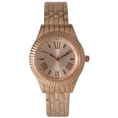 jcpenney.com | Olivia Pratt Womens Rose Goldtone Bangle Watch-26413rose