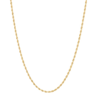10 K Gold Rope Chain Necklace by Fine Jewelry