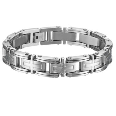 jcpenney.com | Mens 9 Inch Stainless Steel Link Bracelet