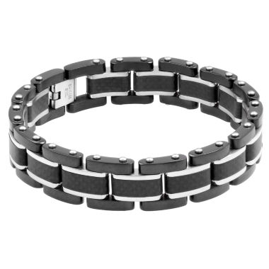 jcpenney.com | Mens 8.25 Inch Stainless Steel Link Bracelet