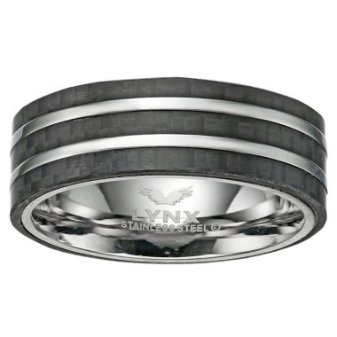 jcpenney.com | Mens White Diamond Stainless Steel Band