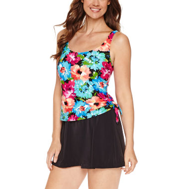 jcpenney.com | Azul by Maxine of Hollywood Floral Swim Dress