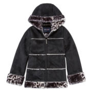 Girls Midweight Parka-Preschool