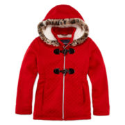 Girls Midweight Fleece Jacket-Preschool