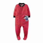 Carter's Boy Red 1pc Sleeper 2T-5T