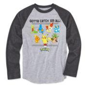 Pokémon Long-Sleeve Raglan Tee - Preschool Boys 4-7